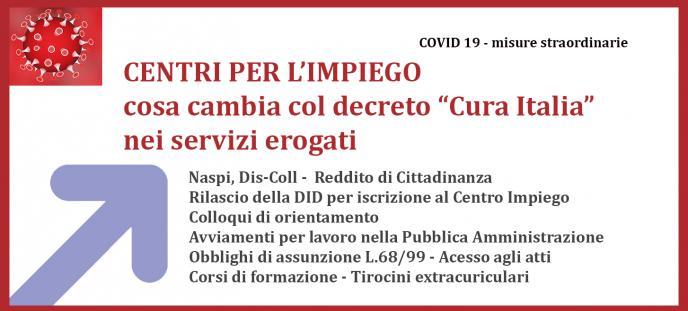 """Cosa cambia nei servizi dei Centri per l'Impiego dopo il Decreto """"Cura Italia"""""""