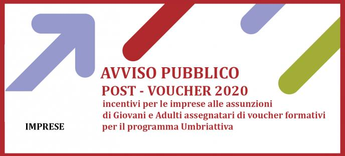 Avviso POST-VOUCHER  2020