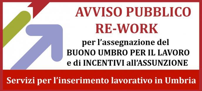 Avviso pubblico RE-WORK